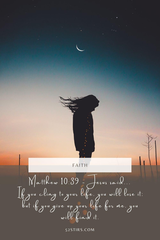 Inspiring Bible Verse of the Day - 52stirs.com