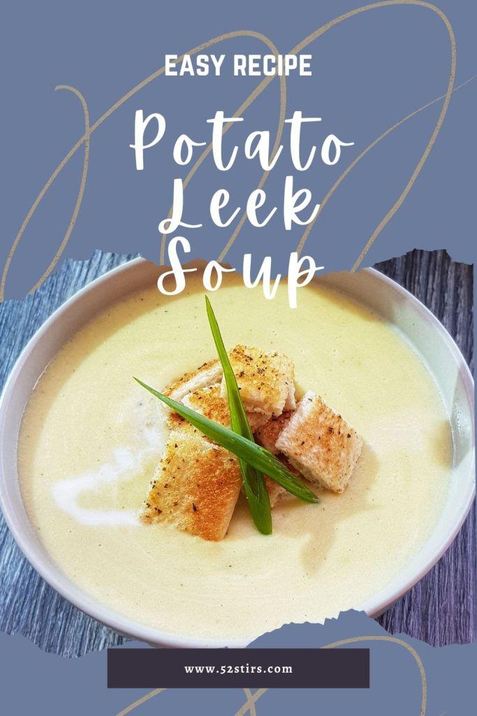 potato leek soup - 52StirsLounge