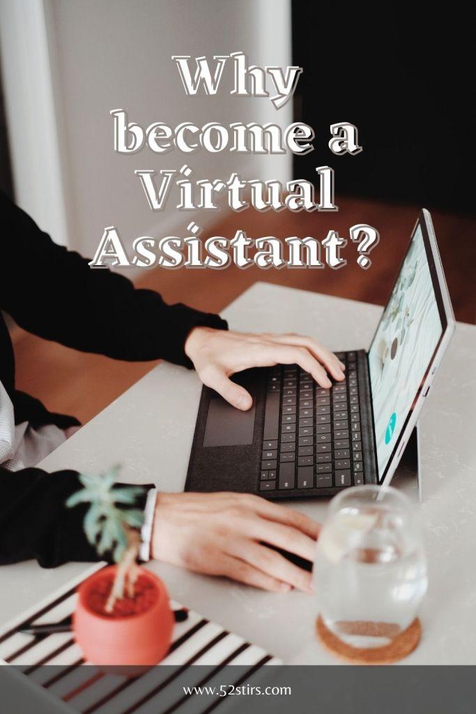 Virtual Assistant - 52stirs.com