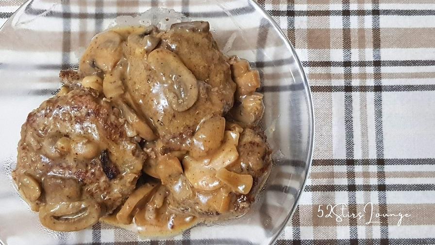 Homemade Burger Steak Better than Jollibee - 52Stirs.com