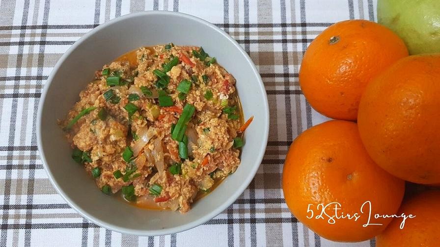 Tasty Sautéed Tomatoes and Eggs - 52stirs.com