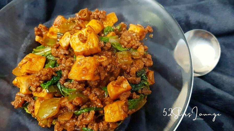 Tasty Saucy Beef and Tofu in Tomato Sauce - 52Stirs.com