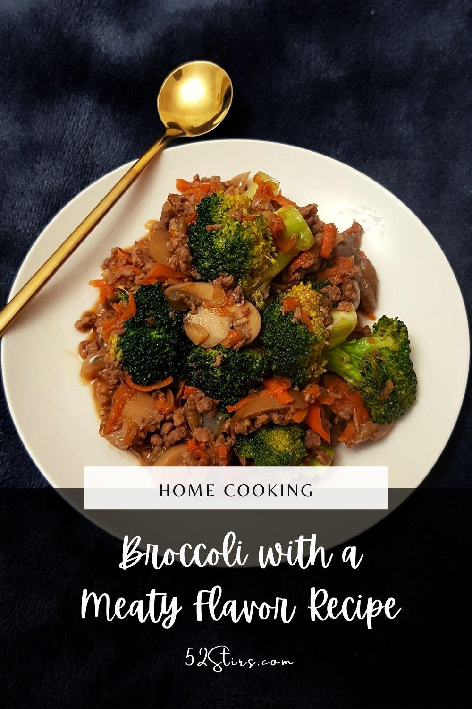 Broccoli with a Meaty Flavor Recipe - 52StirsLounge