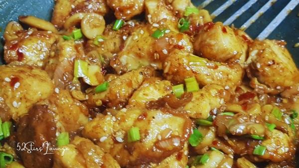 Honey Chicken with Mushrooms - 52Stirs.com