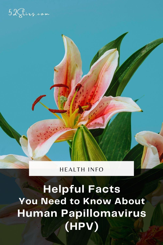 Helpful HPV Information - 52Stirs.com
