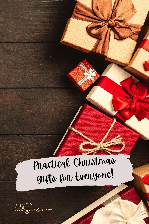 Practical Christmas Gifts - 52StirsLounge