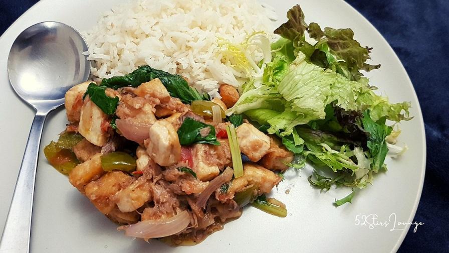 Tuna Tofu Mayo Recipe - 52Stirs.com